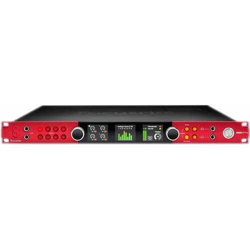 Focusrite Red 8Pre Audio Interface with Thunderbolt 2, Pro Tools & Dante Connectivity
