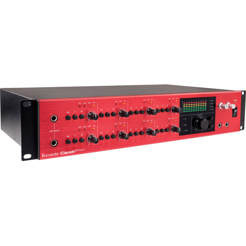 Focusrite Clarett 8PreX 26x28 Thunderbolt Audio Interface