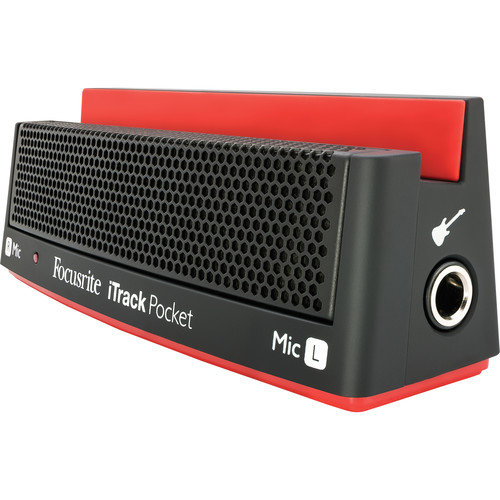 Focusrite iTrack Pocket iPhone Video and Audio Recording Dock