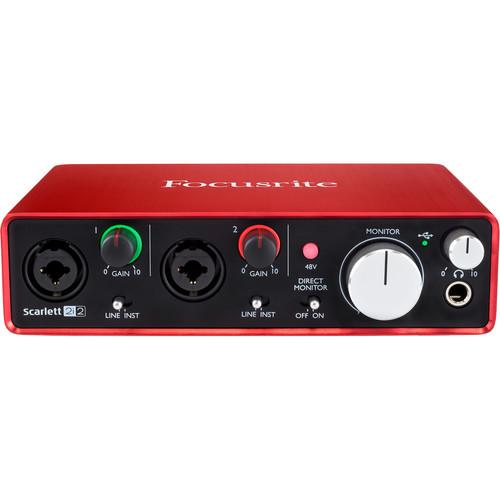 Focusrite Musician's Home Recording Starter Kit