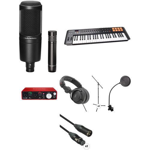 Focusrite Musician's Home Recording Starter Kit