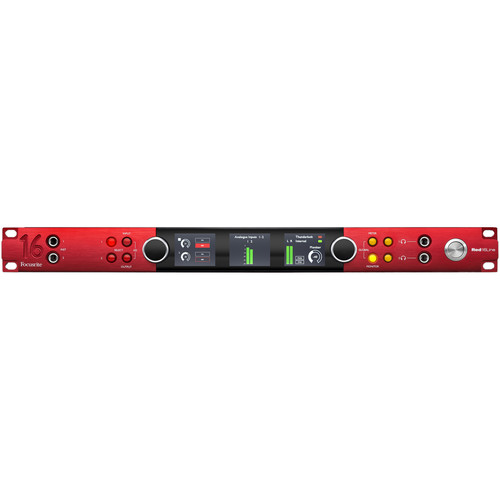Focusrite Red 16Line 64 x 64 Thunderbolt 3 Audio Interface for Pro Tools | HD