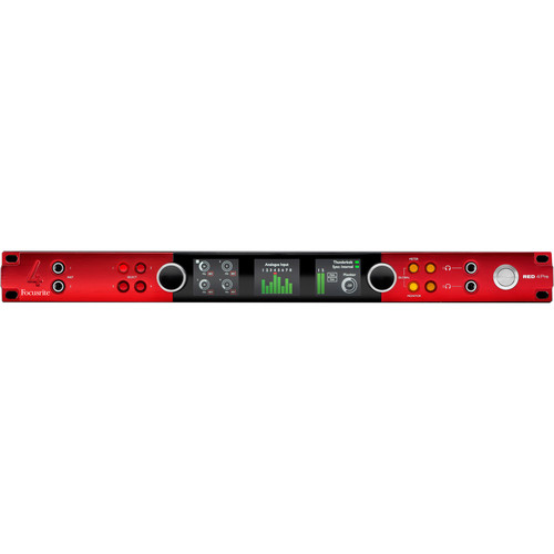 Focusrite Pro RED 4Pre - Audio Interface with Thunderbolt 2, Pro Tools, Dante Connections