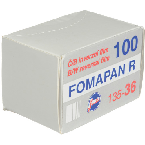 Foma Fomapan R100 Black and White Transparency Film (35mm Roll Film, 36 Exposures)