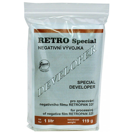 Foma Foma RETROPAN 320 Soft Special Powder BW Film Developer to make 1L
