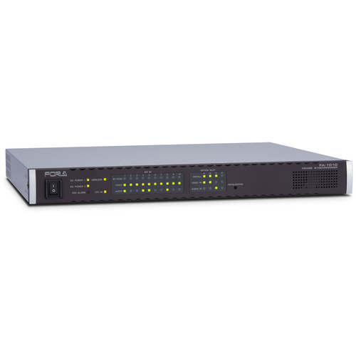 For.A FA-1010 Multi-Channel Signal Processor with 10 Frame Syncs & 10 Color Correctors (1 RU)