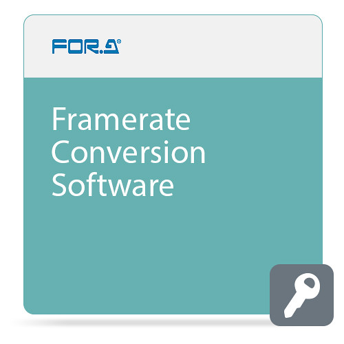 For.A Frame Rate Conversion Software for FA-9600 Signal Processor