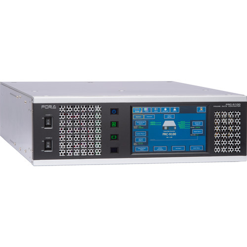 For.A FRC-9100 HD2 HD Dual Channel Frame Rate Converter