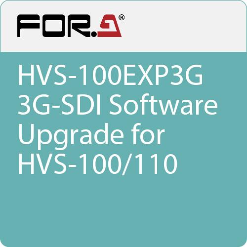 For.A HVS-100EXP3G 3G-SDI Upgrade for HVS-100/110