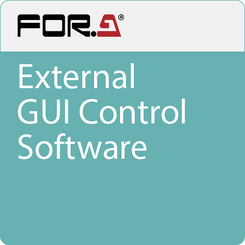 For.A External GUI Control Software