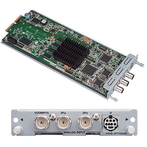 For.A HVS-XT100AI Dual Analog Video Input Card for HVS-XT100 Switcher
