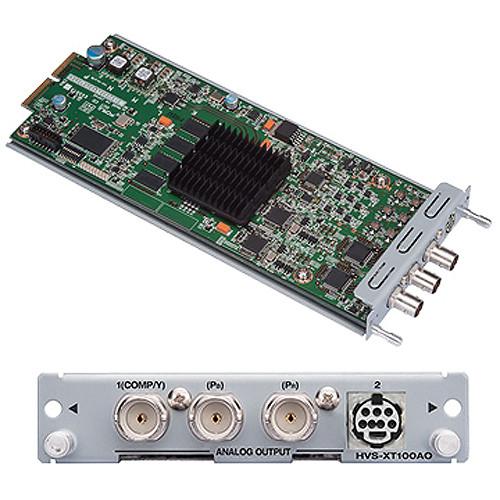 For.A HVS-XT100AO Dual Analog Video Output Card for HVS-XT100 Switcher