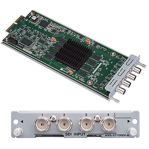 For.A HVS-XT100DI 4-Channel HD/SD-SDI Input Card for HVS-XT100 Switcher