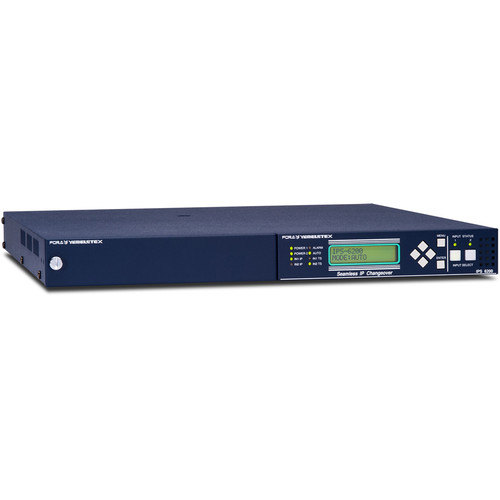 For.A IPS-6200 2x1 IP Changeover Switcher (1 RU)