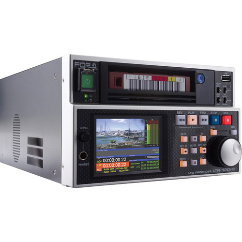 For.A LTR-120HS6 LTO-6 AVC-Intra/DVCPRO Video Archiving Recorder