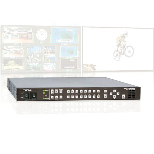 For.A MV-1620HSA 3G/HD/SD/Analog Mixed High-Resolution Multi-Viewer (16-Channel, Dual-Screen Output)