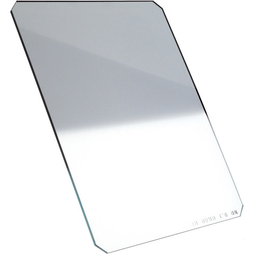 "Formatt Hitech 4 x 5.65"" Hard-Edge 0.3 Graduated Neutral Density Glass Filter (Vertical Orientation)"
