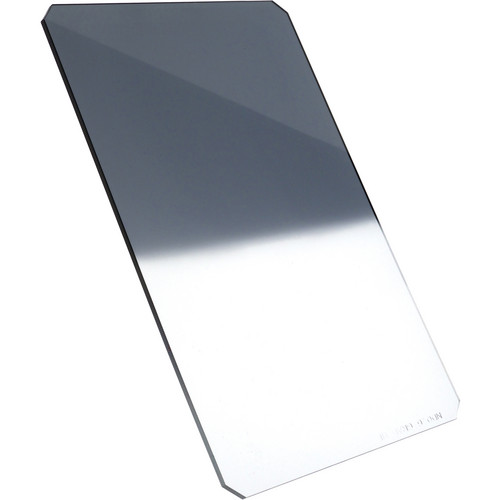 "Formatt Hitech 4 x 5.65"" Hard-Edge 0.6 Graduated Neutral Density Glass Filter (Vertical Orientation)"