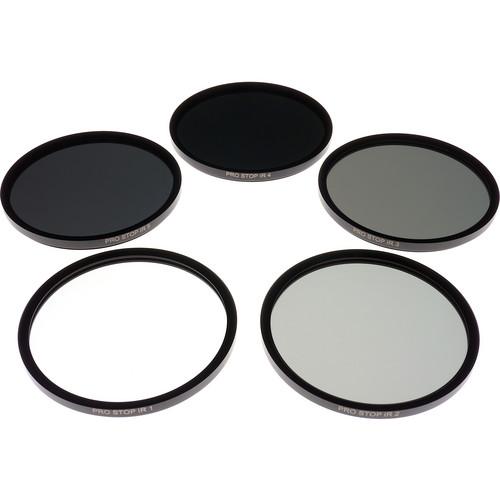 Formatt Hitech 77mm ProStop IRND Solid Neutral Density Filter Kit (1, 2, 3, 4, and 5 Stops)