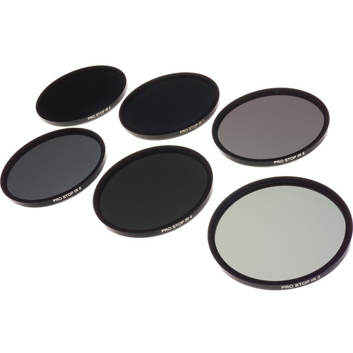 Formatt Hitech 77mm ProStop IRND Solid Neutral Density Filter Kit (3, 4, 5, 6, 7, and 8 Stops)