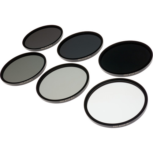Formatt Hitech 77mm ProStop IRND Solid Neutral Density Filter Kit (1, 2, 3, 4, 5, and 6 Stops)
