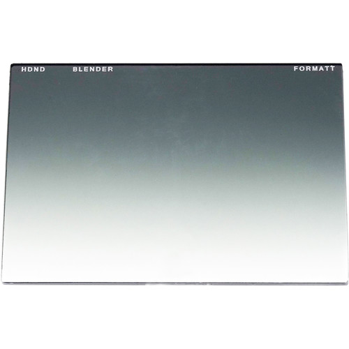 """Formatt Hitech 4 x 5.65"""" Graduated Neutral Density Blender 0.6 Filter (2-Stop)"""