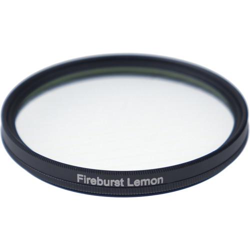 Formatt Hitech Fireburst Circular 58mm 4-Point Star Filter (Lemon)
