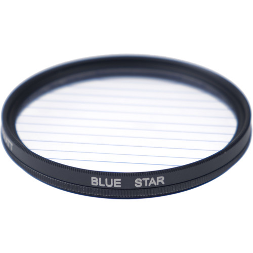 Formatt Hitech Fireburst Circular 58mm 4-Point Star Filter (Sapphire Blue)