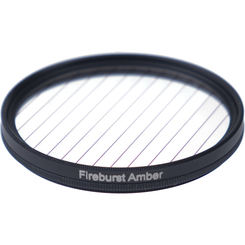 Formatt Hitech Fireburst Circular 62mm 4-Point Star Filter (Amber)