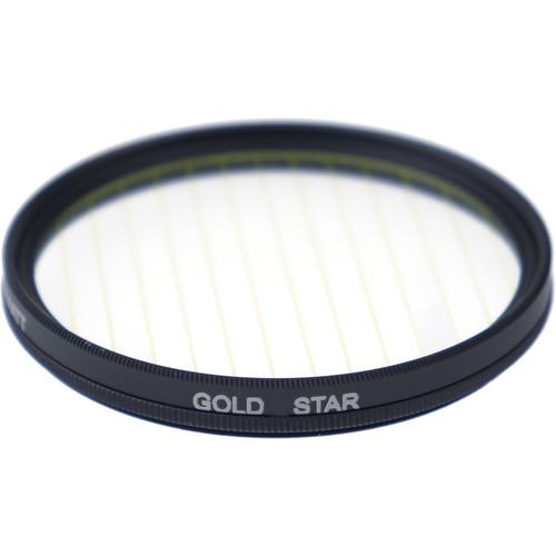 Formatt Hitech Fireburst Circular 62mm 4-Point Star Filter (Gold)