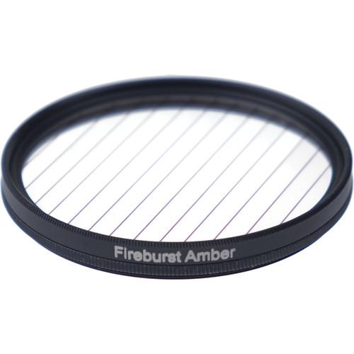 Formatt Hitech Fireburst Circular 72mm 2-Point Star Filter (Amber)