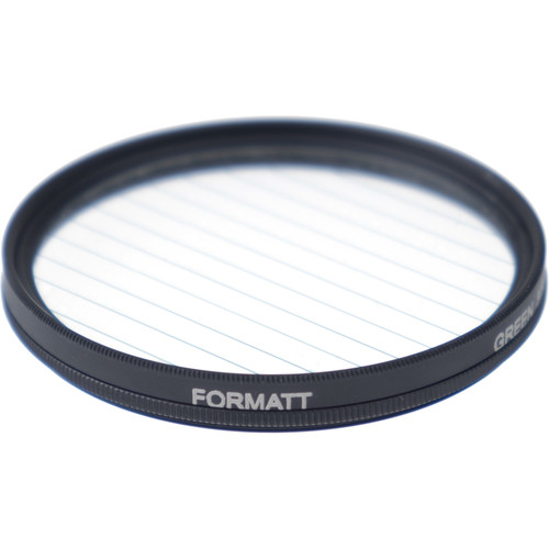Formatt Hitech Fireburst Circular 72mm 2-Point Star Filter (Emerald)