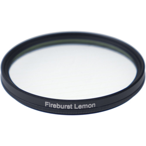 Formatt Hitech Fireburst Circular 72mm 2-Point Star Filter (Lemon)