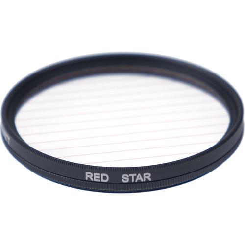 Formatt Hitech Fireburst Circular 82mm 2-Point Star Filter (Flame)