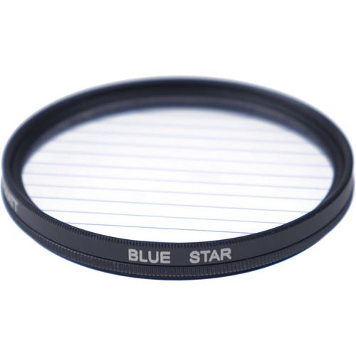 Formatt Hitech Fireburst Circular 82mm 4-Point Star Filter (Sapphire Blue)