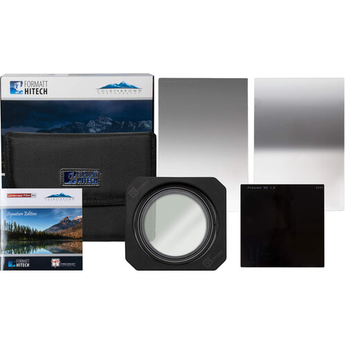 Formatt Hitech Firecrest Colby Brown 100mm Signature Edition Premier Landscape Filter Kit with 100mm Firecrest Filter Holder