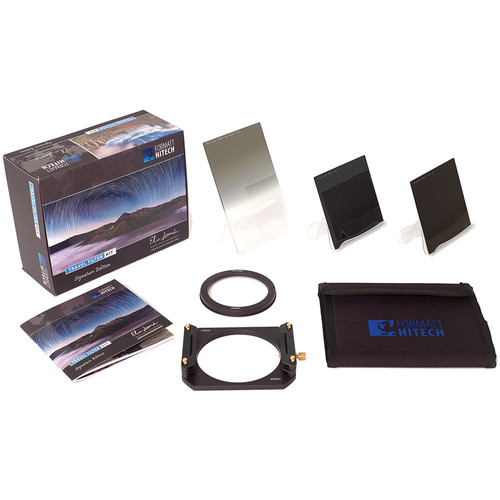 Formatt Hitech 100mm Firecrest Elia Locardi Signature Edition Travel Filter Kit (for 62mm Thread)