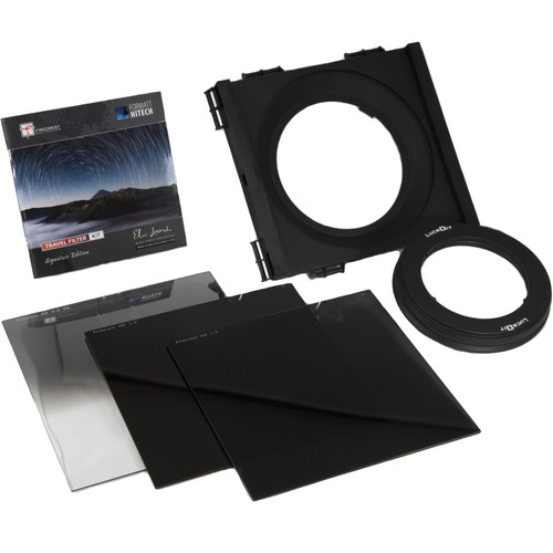 Formatt Hitech 165mm Firecrest Elia Locardi Signature Edition Travel Filter Kit for Canon 14mm f/2.8L II Lens