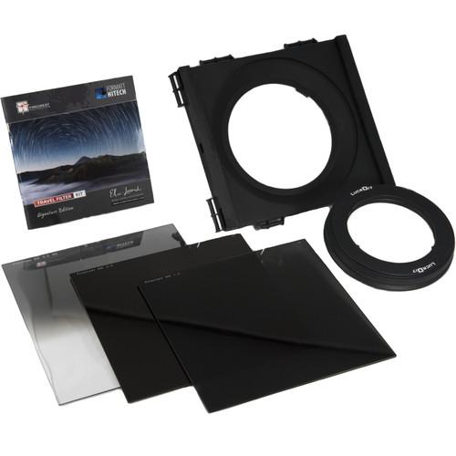 Formatt Hitech 165mm Firecrest Elia Locardi Signature Edition Travel Filter Kit (with 77-82mm Adapter Ring)
