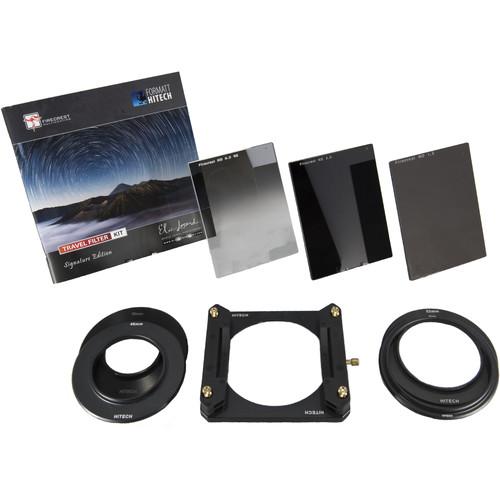 Formatt Hitech Firecrest Elia Locardi Signature Edition 67mm Aluminum Filter Holder Travel Kit with 39, 46, 52, and 62mm Adapter Rings