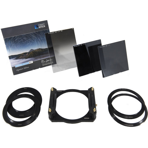 Formatt Hitech Firecrest Elia Locardi Signature Edition 85mm Aluminum Filter Holder Travel Kit with 58, 67, 72, and 77mm Adapter Rings