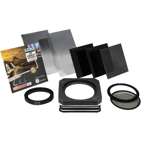 Formatt Hitech Firecrest Ken Kaminesky 100mm Signature Edition Master Kit with 100mm Firecrest Filter Holder