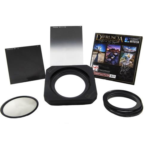 Formatt Hitech Firecrest Patrick Di Fruscia 100mm Signature Edition Pro Essentials Kit with 100mm Firecrest Filter Holder