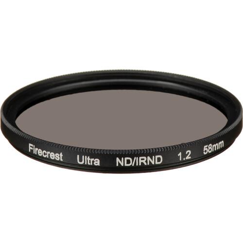 Formatt Hitech 58mm Firecrest Ultra Neutral Density 1.2 Filter