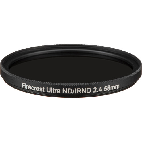 Formatt Hitech 58mm Firecrest Ultra Neutral Density 2.4 Filter
