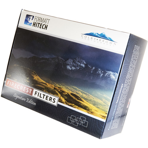 Formatt Hitech 100mm Firecrest Ultra Colby Brown Signature Edition Landscape Filter Kit