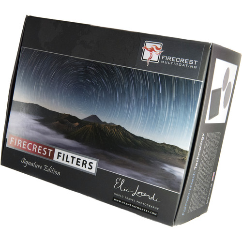 Formatt Hitech 100mm Firecrest Ultra Elia Locardi Signature Edition Travel Filter Kit