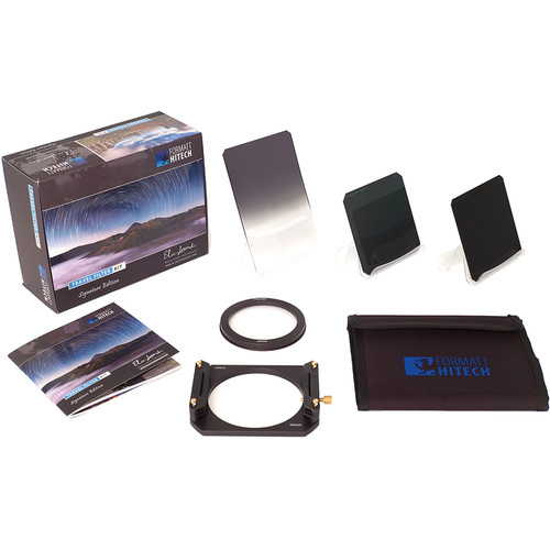 Formatt Hitech 165mm Elia Locardi Signature Edition Travel Filter Kit for Mamiya Schneider Kreuznach 28mm f/4.5 Lens