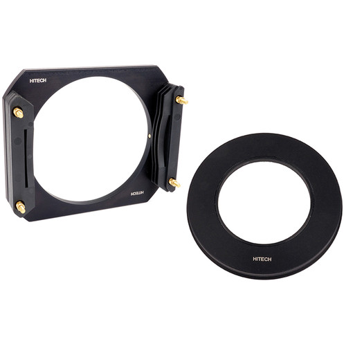Formatt Hitech 100mm Aluminum Modular Filter Holder Kit with 62mm Adapter Ring