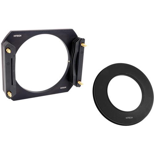 Formatt Hitech 100mm Aluminum Modular Filter Holder Kit with 49mm Wide Angle Adapter Ring
